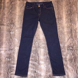 """EUC Banana Republic 26P Indigo Jeans 35"""" inseam"""